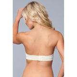 Miracle Push-Up Strapless BH - Nude_