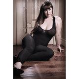 Opaque Catsuit - Zwart_