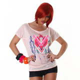 Sexy Jela London Shirt TS464 in Roze