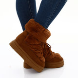 Sexy Boots 15176 in Camel