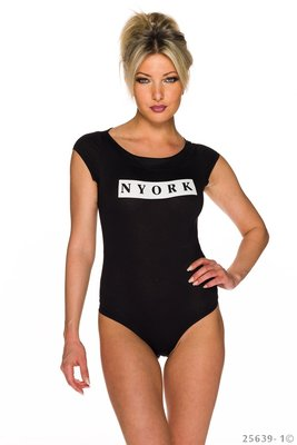 Sexy Body Top van Giorgia in Zwart
