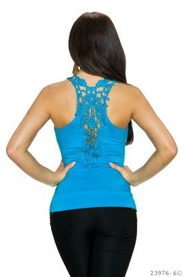 Sexy Top van M & S Fashion in Blauw