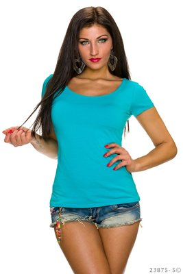 Sexy LingLing shirt in Turquoise