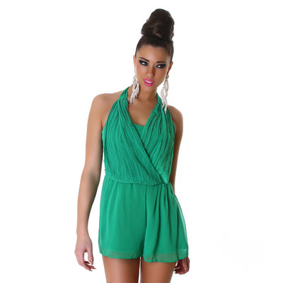 Sexy overall in groen