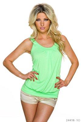 Sexy top van Bt-Style in groen