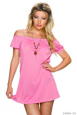 Sexy long shirt in roze