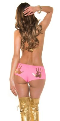 Sexy KouCla Panties met Handprint in Fuschia