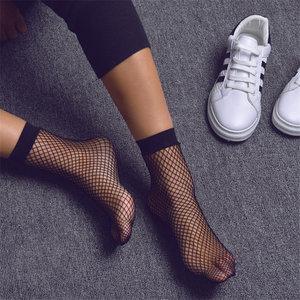Sexy Net Sok in Zwart