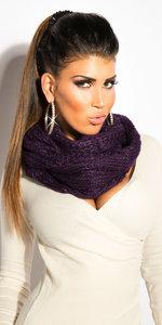 Sexy Loop Sjaal in Violet