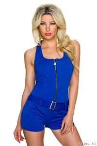 Sexy hotpants jumpsuit van Italy Moda in Blauw