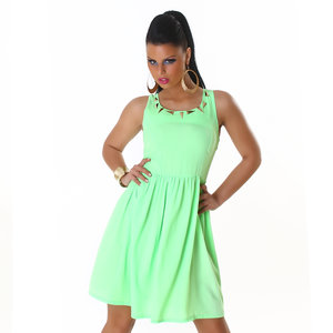 Sexy Jela London Party jurk in Groen