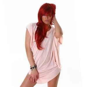 Sexy Jurk L684 in Roze