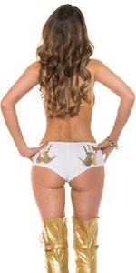 Sexy KouCla Panties met Handprint in Wit