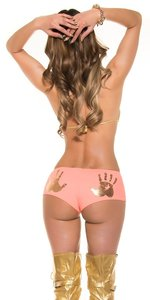 Sexy KouCla Panties met Handprint in Oranje