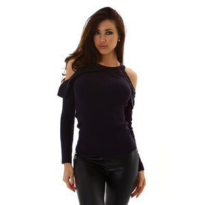 Sexy Jela London Sweater M5009 in Navy