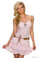 Sexy mini jurkje in roze